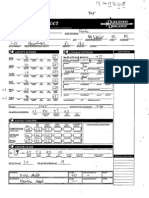 Unnamed Aasimar Character Sheet