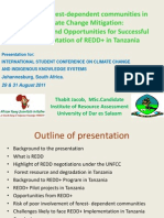 International Student Conference on Climate Change- Johanesburg 2011
