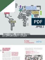 """""""La RSC y su impacto en el consumidor en el ámbito global"""""""