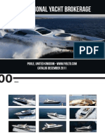 International Yacht Brokerage - Yachts Brokerage - catalog December 2011