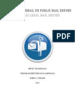 Admin Server - Karya Tulis Ilmiah - Mengirim Email Ke Public Mail Server Dari Local Mail Server