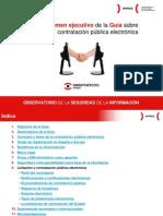 Resumen ejecutivo de la Guía sobre contratación pública electrónica