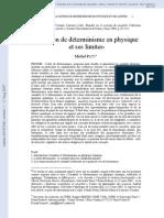 Paty M 2003g-DeterPhysLim 138B