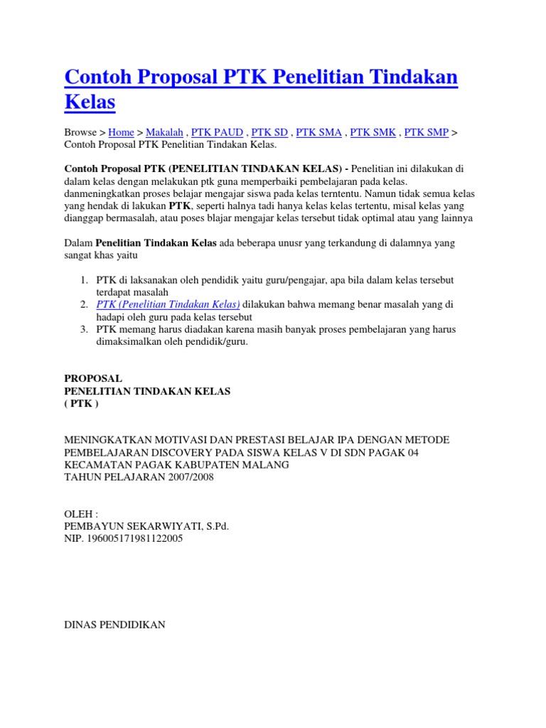 Contoh Judul Skripsi Bahasa Indonesia Ptk Smp Lasopafront