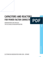 Capacitors and Reactors for Power Factor Correction
