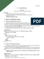 Correction Examen 2008 2009
