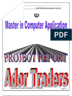 Ador Traders Project Report Ful