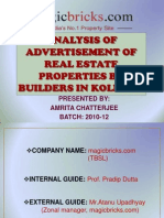 Analysis of Advertisement of Real Estate Properties By