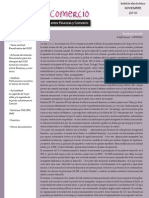Boletín Finanzas & Comercio noviembre 2010