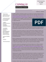 Boletín Finanzas & Comercio octubre 2010