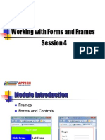 04. Session 04 _ Working With Forms and Frames