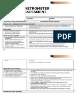 Soil and Penetrometer Risk Assessment