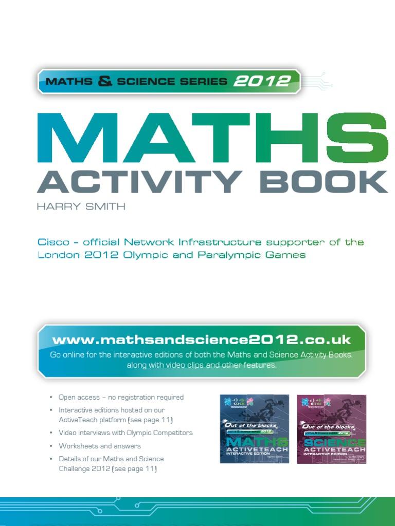 Maths Activity Book - Sample Pages | Watt | Kilowatt Hour