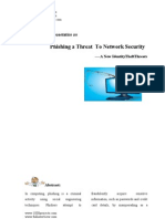 Phishinga Threat to Network Security