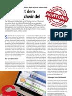 """""""Schluss mit dem Etikettenschwindel"""", Kolumne Marco Nussbaum in Hotel&Technik 6/11"""