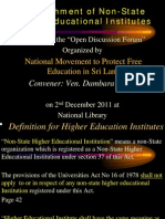FUTA Private Universities