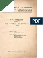 Glasnik Zemaljskog Muzeja 1948./n.s.3