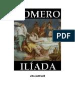 Eb000012 Iliada Homero Livro