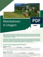 Kleinbahnen in Ungarn