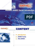 HUAWEI GENEX Serial Introduction