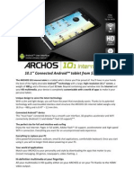 A101IT Spec Sheet En