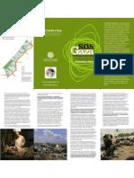 Triptico- SOS Gaza - Paremos El Genocidio
