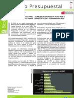 Boletín Altiplano Presupuestal