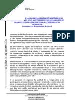 X ANIVERSARIO DE LA DECLARACIÓN DE ARANJUEZ COMO PAISAJE CULTURAL PATRIMONIO DE LA HUMANIDAD
