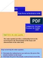 Radar Equation2