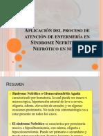 Aplicación del proceso de atención de enfermería en  Síndrome Nefrítico y Nefrótico en niños. _1