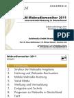 Goldmedia Webradiomonitor 2011 Vortragsversion