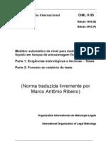 Oiml r 85 Ma - 2002 - Traduzido