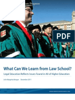 What Can We Learn from Law School?