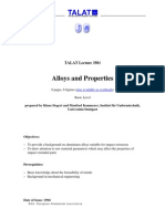 Alloys and Properties