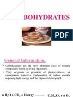 Carbohydrates 1