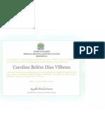 Caroline Belém Dias Vilhena