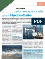 Article Fuides Et Transmissions Hydrosafe Pelle Sous Marine