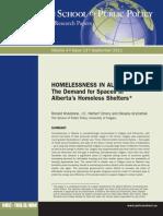 Homelessness in Alberta