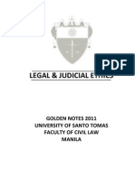 UST GN 2011 - Legal and Judicial Ethics Preliminaries