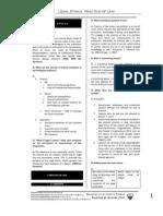 UST GN 2011 - Legal and Judicial Ethics Proper, Index, Biblio
