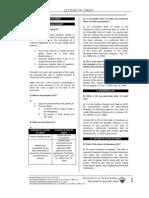 UST GN 2011 - Mercantile Law Proper