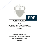 UST GN 2011 - Political Law Preliminaries