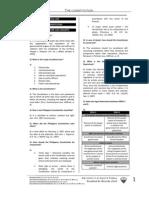 UST GN 2011 - Political Law Proper