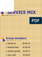 Service Mix
