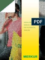 Annual Report 2010 Merkur d.d