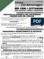 Parliamone Con Bernareggio Dicembre 2011