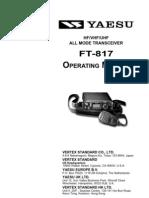 FT-817 Manual