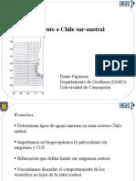 Westerlies en Costas de Chile