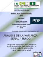Analisis de La Varianza[1]