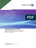 ALU 7670 Routing Switch Platform General Info R7.1